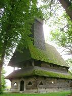 Старовинна дерев'яна церква в Крайниково